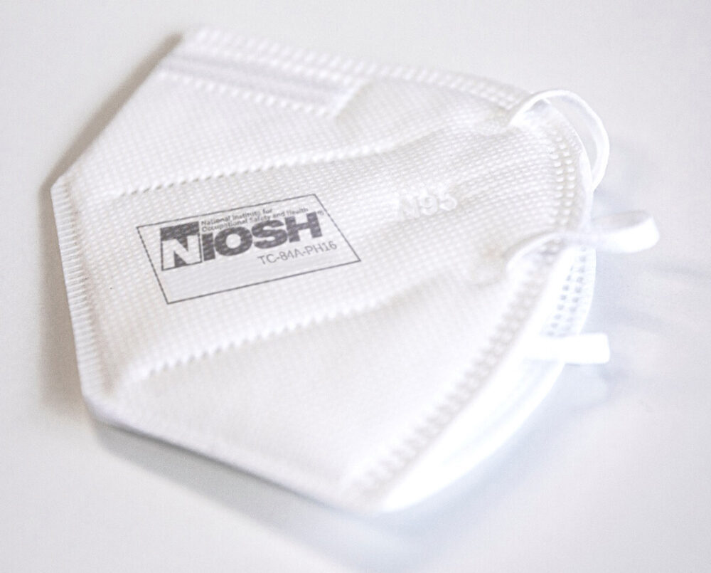 NIOSH Certified N95 Face Masks - Made in the USA