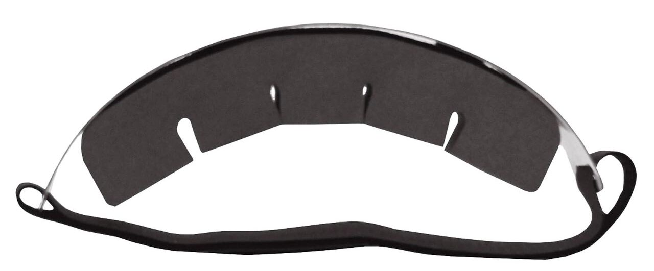 Face Shield Top View